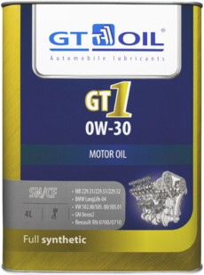 Масло моторное GT OIL GT1 0W-30