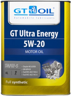 Масло моторное GT OIL Ultra Energy 5W-20
